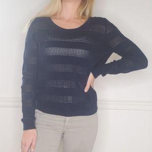 Tommy Hilfiger Navy Blue Sweater Size M